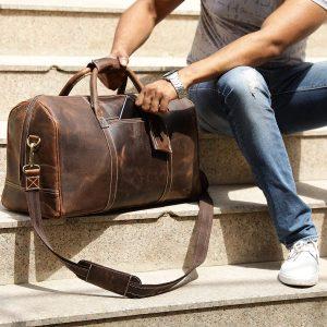 Rustic Town bolsa de viaje para hombre regalo para hombre original todoparabellas.es
