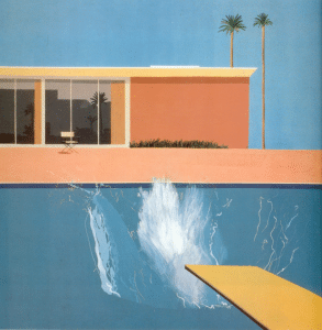 David Hockney A Bigger Splash Arte Pop