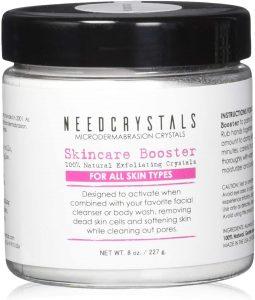 NeedCrystals exfoliante facial limpieza facial en casa