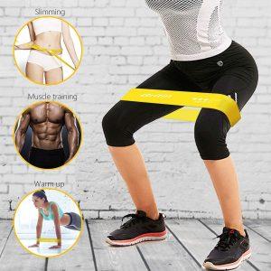 Gritin pilates en casa bandas elásticas de resistencia fitness