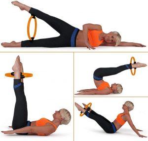 pilates en casa Anillo de resistencia Mantra fitness