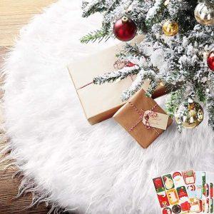 navidad que es falda de árbol de navidad