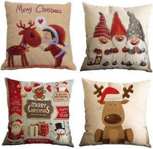 navidad que es fundas de cojin navideñas