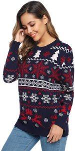 navidad que es jersey navideño mujer jersey navidad