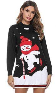 navidad que es jersey navideño mujer jersey navidad blanco y negro