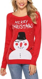 navidad que es jersey navideño mujer jersey navidad rojo