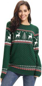 navidad que es jersey navideño mujer jersey navidad verde
