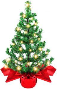 navidad que es mini árbol de navidad