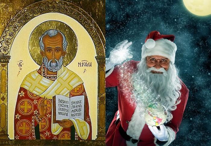 navidad que es santa claus san nicolas
