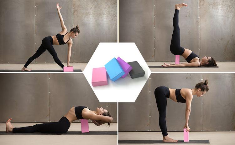 yoga beneficios bloque de yoga