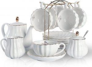 Juego de té blanco té verde propiedades