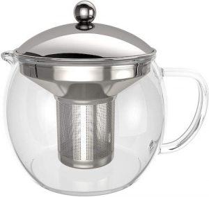 Tetera de cristal té verde propiedades