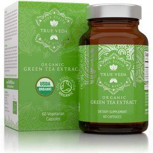 cápsulas de extracto de té verde orgánico té verde propiedades