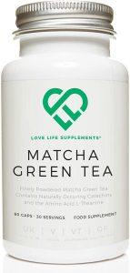 cápsulas de té verde Matcha té verde propiedades
