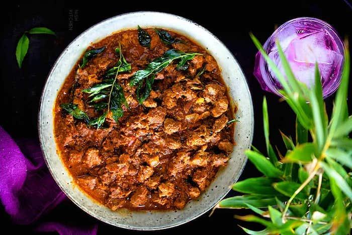 curcuma receta curry madrás ternera