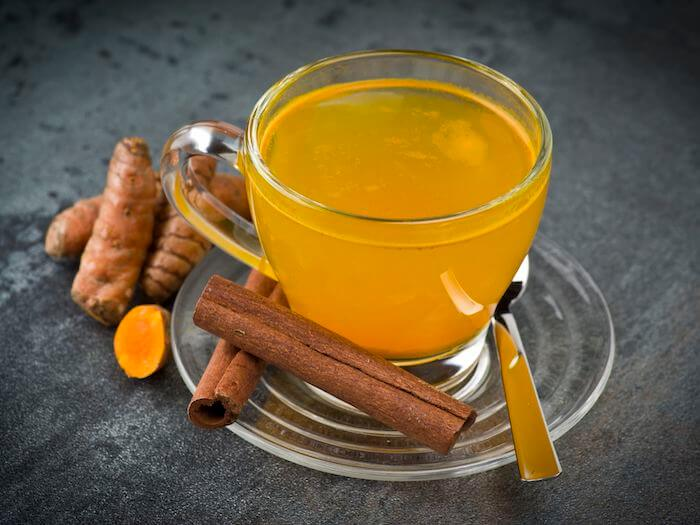 té de curcuma con canela curcuma recetas