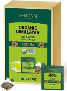 té verde hoja del Himalaya té verde propiedades