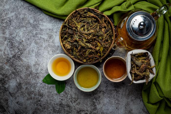 té verde propiedades hojas de té verde