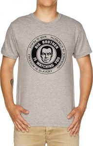 Camiseta Big Brother Is Watching You Orwelliano George Orwell 1984