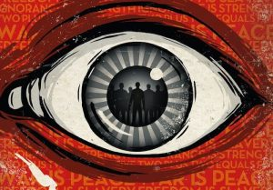 Orwelliano George Orwell 1984 orwell frases El Gran Hermano Te Observa ojo que todo lo ve