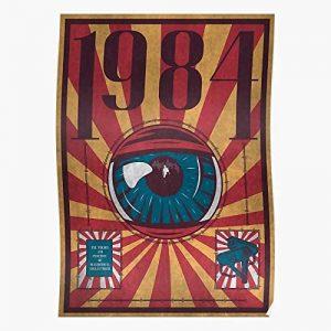 Poster Orwell 1984 Orwelliano George Orwell 1984